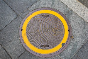 Korean water main cover