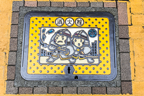 Tokyo fire hydrant cover
