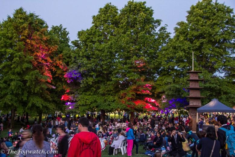Nara Candle Festival in Canberra