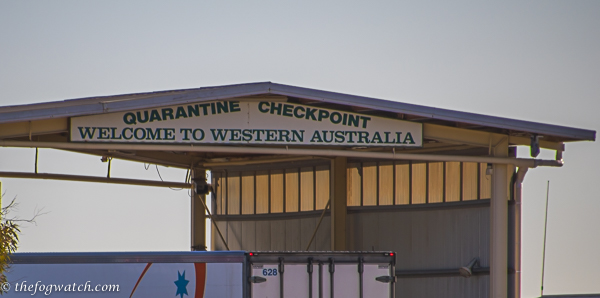 Quarantine checkpoint