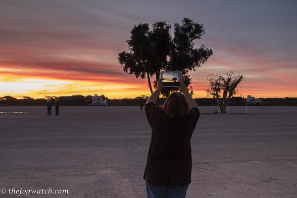 Sunset at WA Border Village