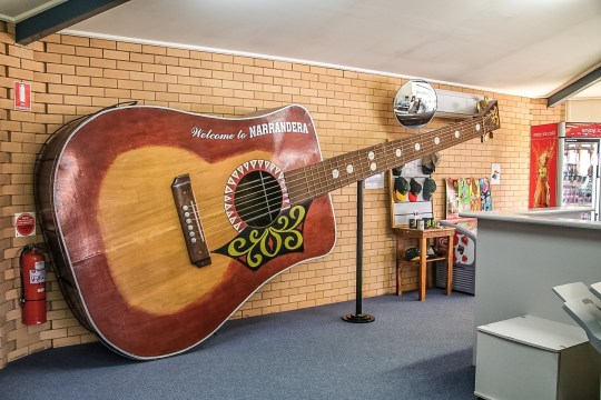 World's largest playable guitar