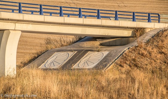 Camino underpass