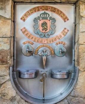 The Wine Fountain then on to Villamayor de Montjardin