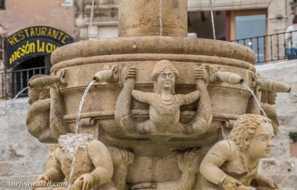 Santa Maria fountain, Burgos