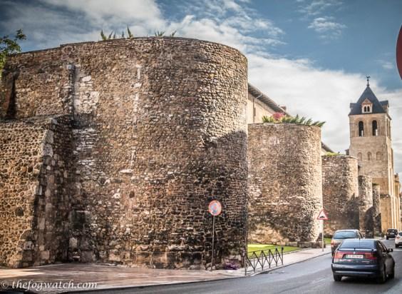 Burgos city walls