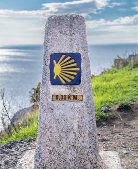 Camino Kilometre Zero at Finisterre and on to Muxia