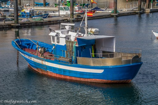 Finisterre fishing boat