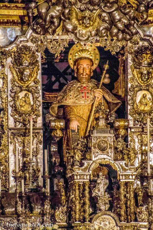 St James reliquary