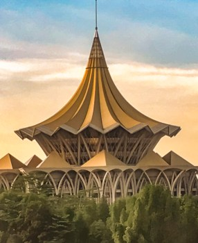 Kuching: Why your travel memories should be sketchy