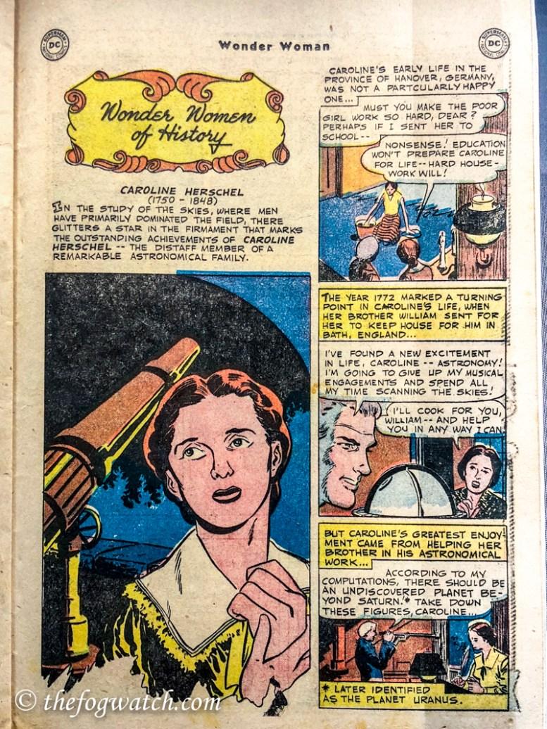 Wonder woman caroline herschel