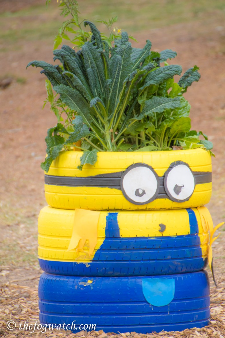 Minions tribute at Floriade