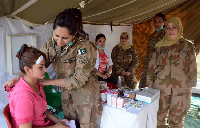 Army doctors pictures female pak Pakistan Army