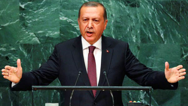 President Erdogan in UN general assembly