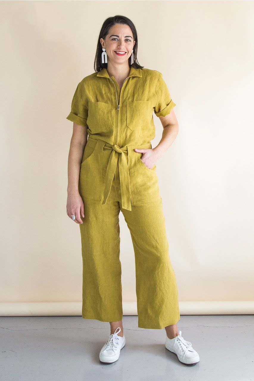 Woman Suit Pattern : woman, pattern, Blanca, Flight, Foldline