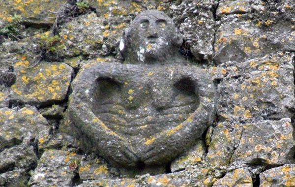 Sheela-Na-Gig at Cullohill Castle