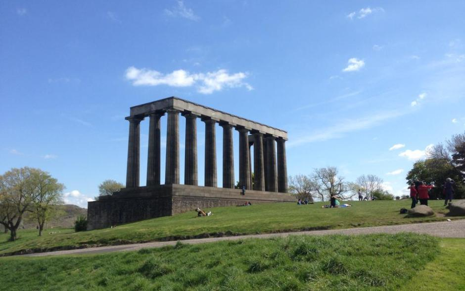 "The National Monument, or ""Edinburgh's Disgrace"", Edinburgh"