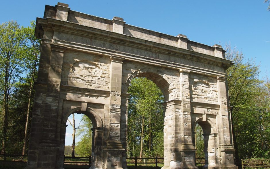 Independence Day: The Arch, Parlington Park, Aberford, West Yorkshire.