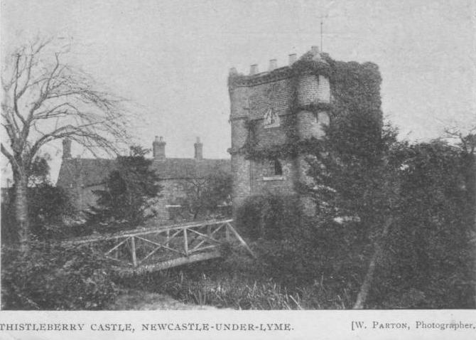 Thistleberry Castle, Newcastle-under-Lyme, Staffordshire