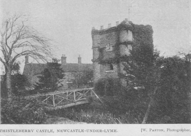 Thistleberry Castle, Newcastle-under-Lyme, Staffordshire
