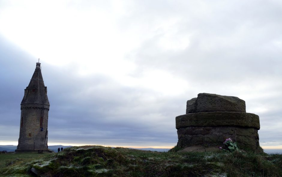 Hartshead Pike, Ashton-under-Lyne, Lancashire