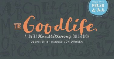 Goodlife [7 Fonts]