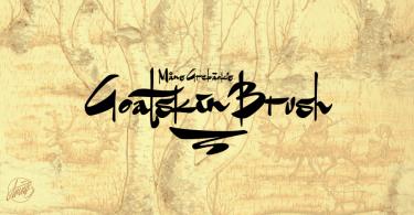 Goatskin Brush [1 Font]