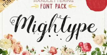 Mightype [8 Fonts]
