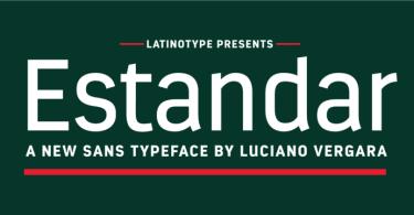 Estandar [13 Fonts]