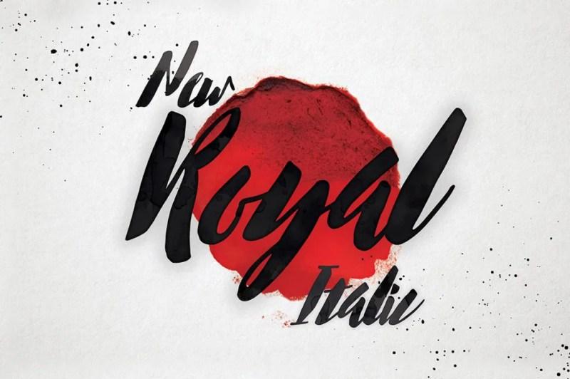 New Royal Italic