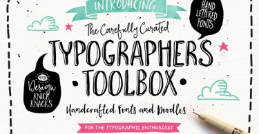The Typographer's Toolbox [18 Fonts + Extras]