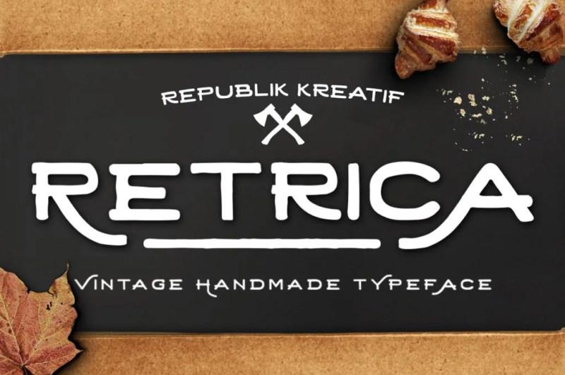 Retrica [Thefontsmaster.com]