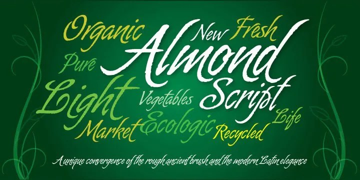 Almond Script [Thefontsmaster.com]