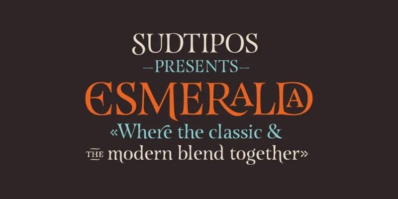 Esmeralda Pro [Thefontsmaster.com]