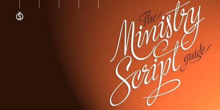 Ministry Script [Thefontsmaster.com]
