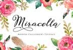 Miracella Script [1 Font]