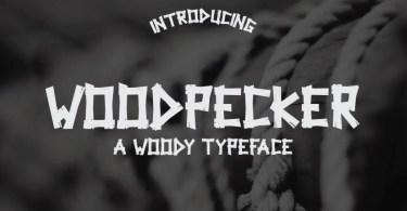 Woodpecker Typeface [1 Font]