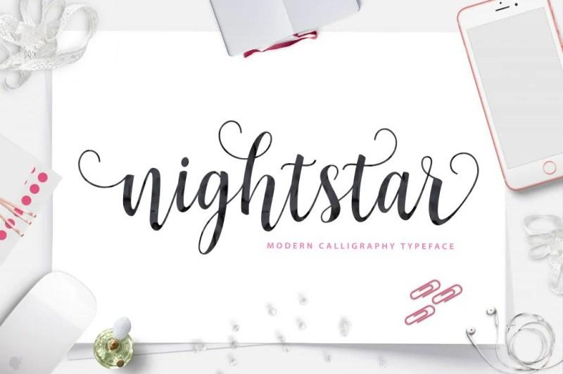 Nightstar [Thefontsmaster.com]