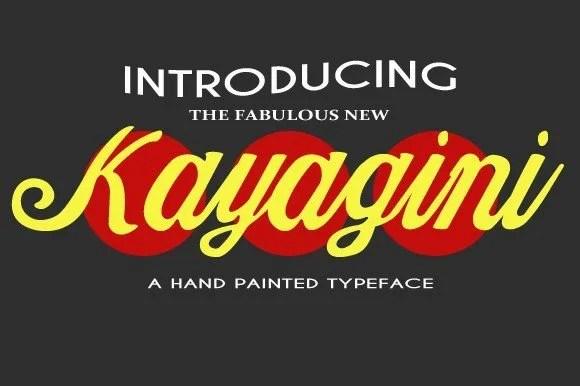 Kayagini-O [Thefontsmaster.com]