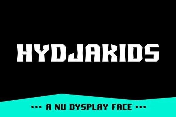 Slides_Hydjakids_1A-F [Complete Font Family @ Thefontsmaster.com]