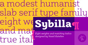 Sybilla [16 Fonts]