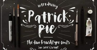 Patrick Pie [2 Fonts]