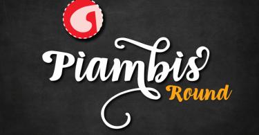 Piambis Round [1 Font]