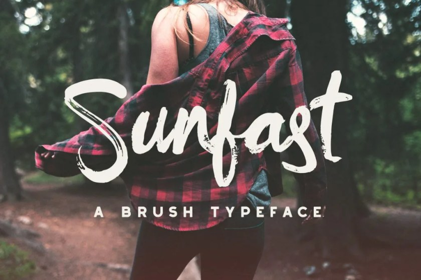 Sunfast 1 Font The Fonts Master
