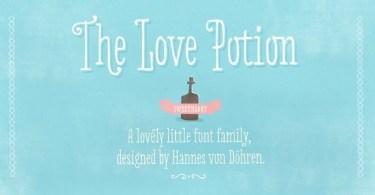 Love Potion [3 Fonts]