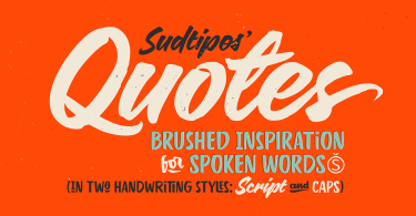 Quotes [2 Fonts]