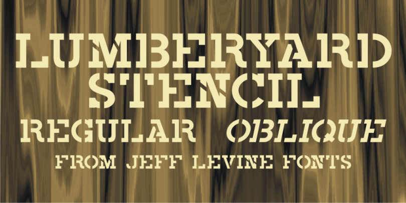 Lumberyard-Stencil-Jnl-Thefontsmaster-Com