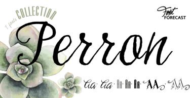 Perron [6 Fonts]