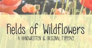 MRF Fields of Wildflowers [1 Font]