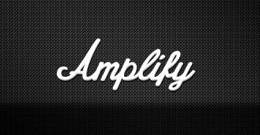 Amplify [1 Font]